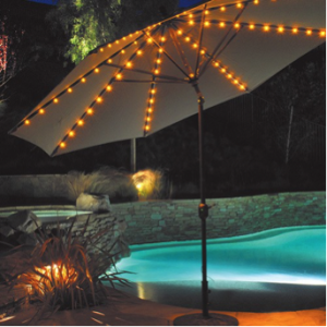 Patio Umbrella with LED lights