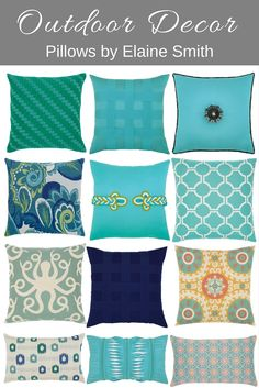 Elaine Smith Pillows